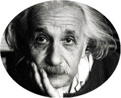 Albert Einstein rond