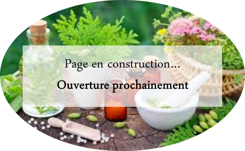 page en construction - naturopathie